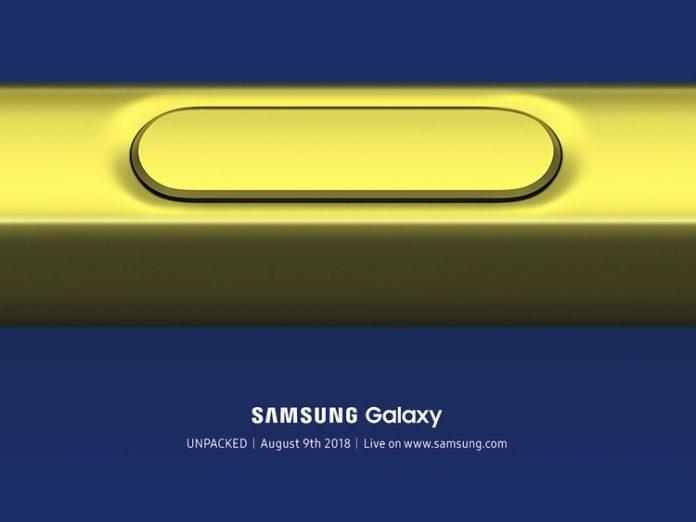 Samsung Galaxy Note 9 официально представят 9 августа