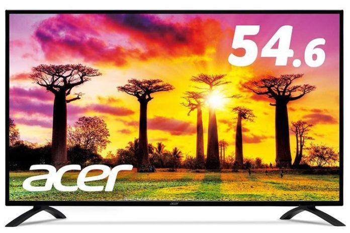 Acer готовит гигантские мониторы диагональю 54,6 и 48,5 дюймов