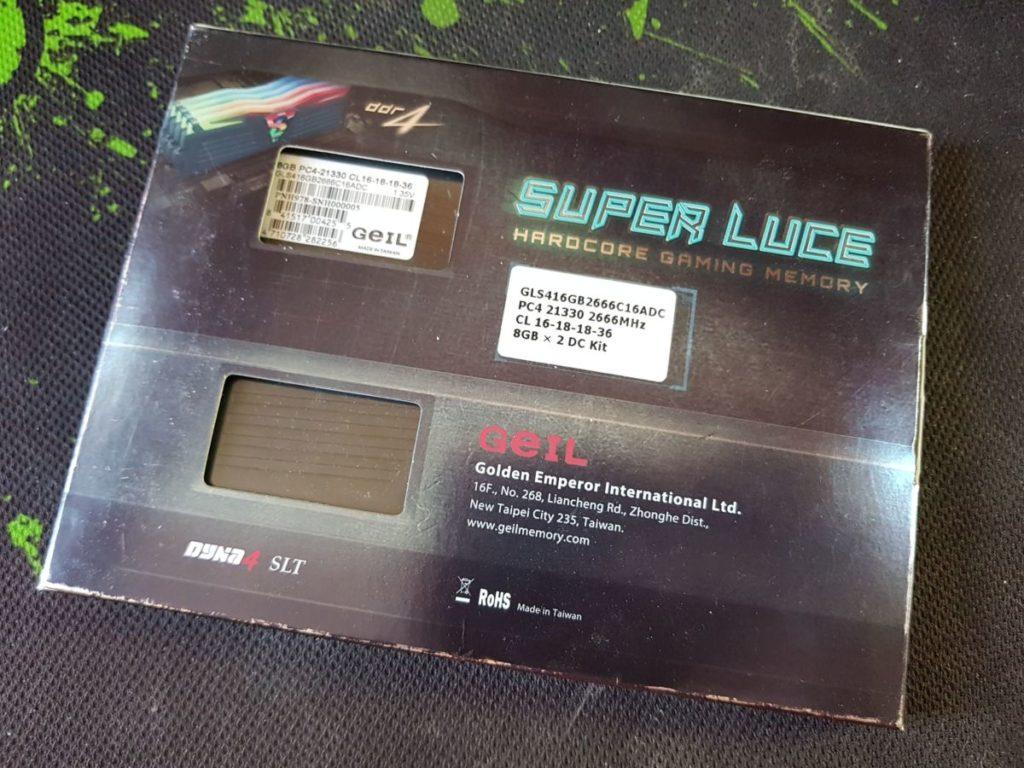 Обзор и тестирования DDR4 памяти GeIL Super Luce RGB Sync