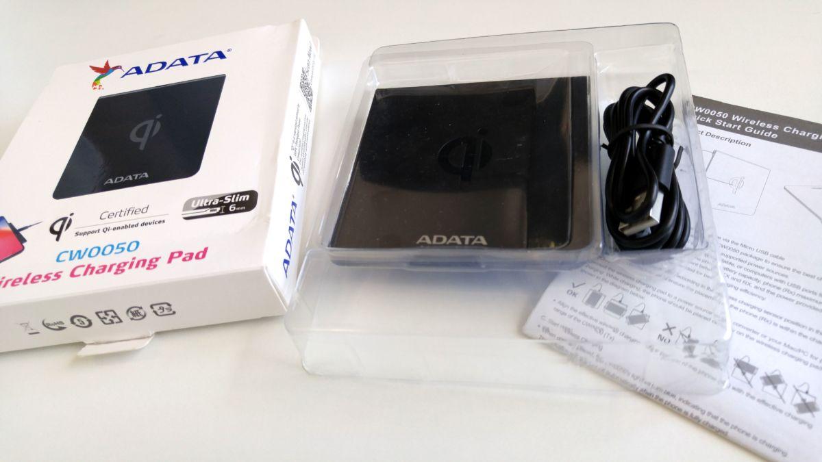 Тест и обзор беспроводной зарядки ADATA CW0050: умная база для вашего смартфона