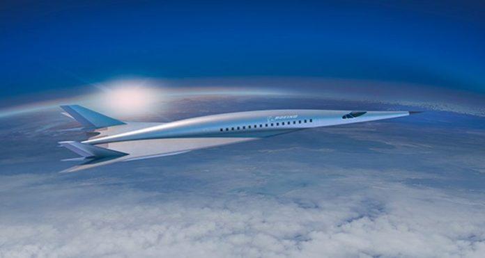 ВBoeing представили концепт-кар гиперзвукового пассажирского самолета