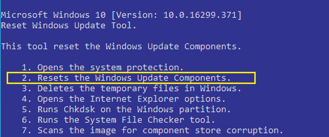 Если Центр обновления «завис» или же не может установить контакт с сервером, необходимо вернуть его в исходное состояние