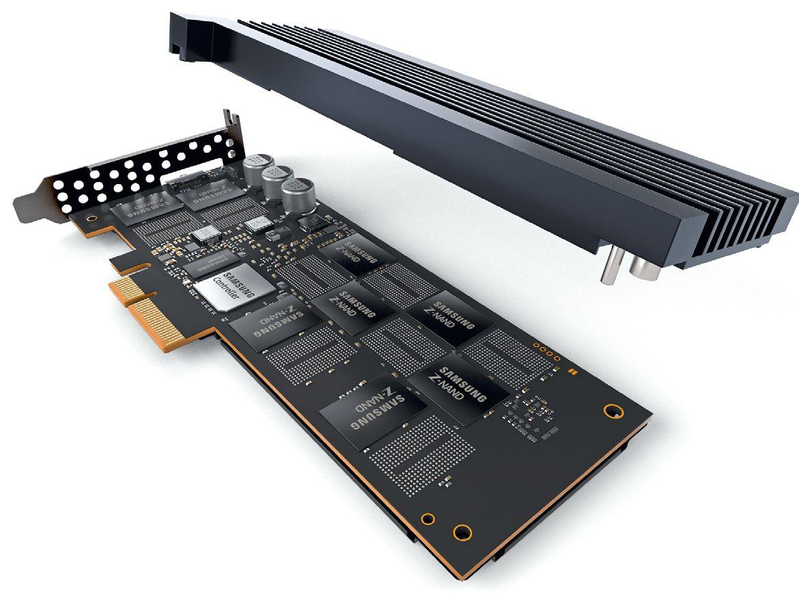 У SZ985 намного более короткое время доступа, чем у SSD прошлого поколения. Серия Z SSD от Samsung претендует на применение в серверах