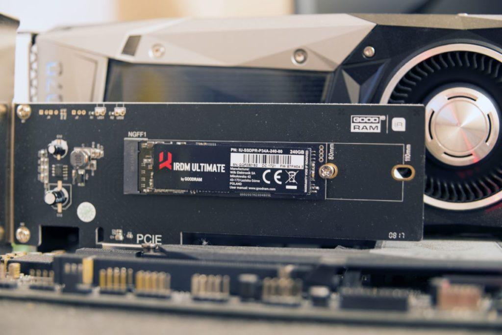 Обзор SSD GoodRAM IRDM Ultimate: объемом 240 Гб с поддержкой NVMe