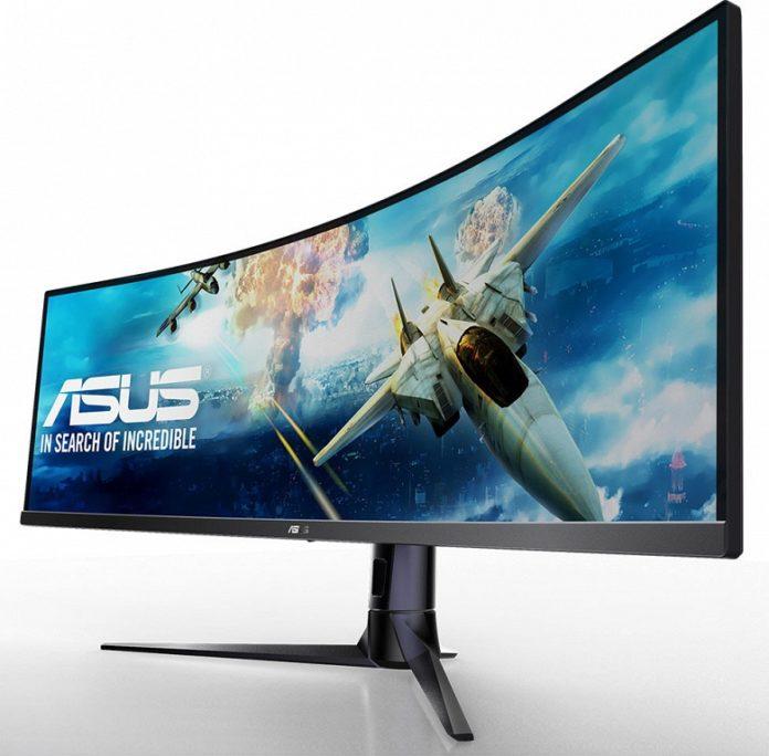 ASUS представила гигантский игровой монитор с соотношением 32:9
