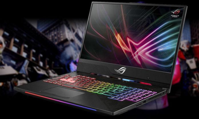 Геймерский ноутбук Asus ROG GL504 рассекретили до премьеры