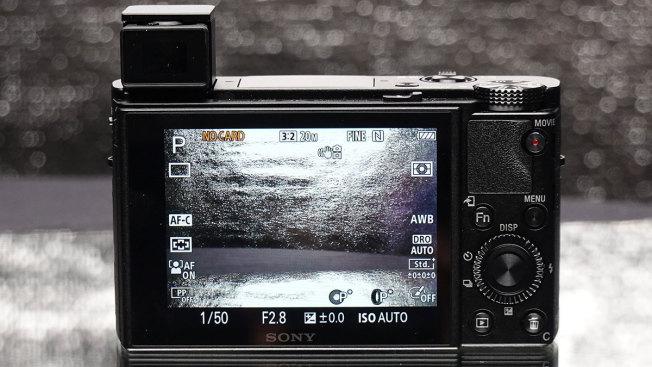 Sony Cyber-shot DSC-RX100: маленькие кнопки для больших рук кажутся несерьезными