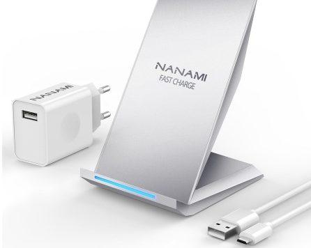 Тест и обзор беспроводной зарядки Nanami Qi Fast Wireless Charger