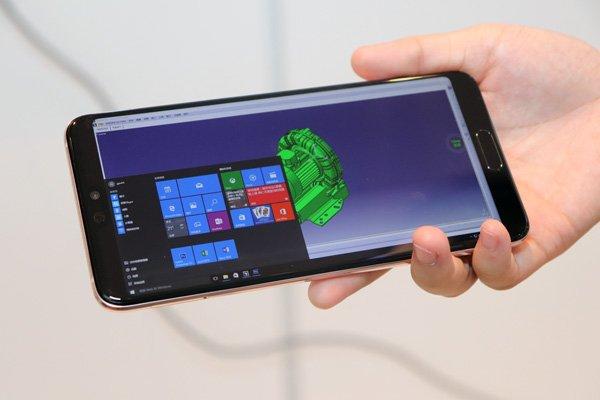 Сервис Huawei позволяет запустить Windows 10 на смартфоне