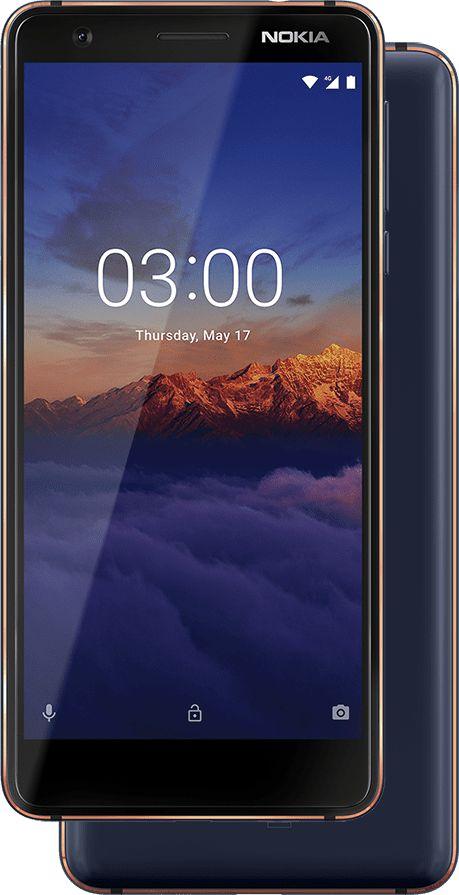 В России начались продажи Nokia 3.1