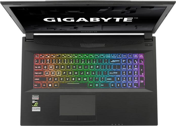 Игровые ноутбуки GIGABYTE получили мощные процессоры Intel Coffee Lake