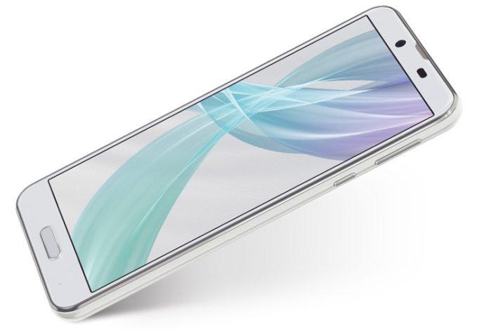 Sharp представила смартфон Aquos Sense Plus