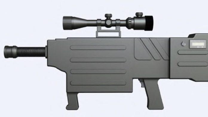 В Китае создали лазерную штурмовую винтовку