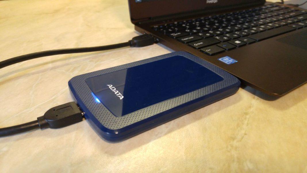 Тест и обзор портативного жесткого диска ADATA HV300 SLIM: тонкий, легкий, емкий