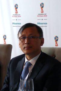 д-р Лин Лан, президент компании Hisense International