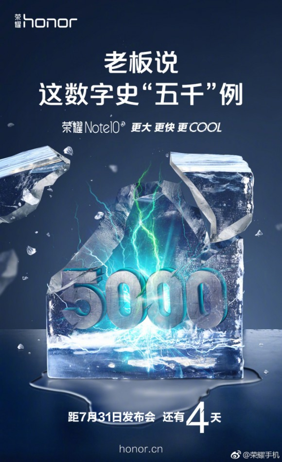 Новинка от Huawei получит самый большой аккумулятор среди флагманов