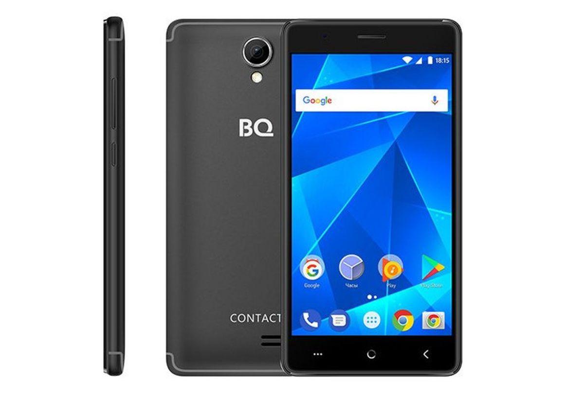 Представлен доступный смартфон с NFC — BQ-5001L Contact