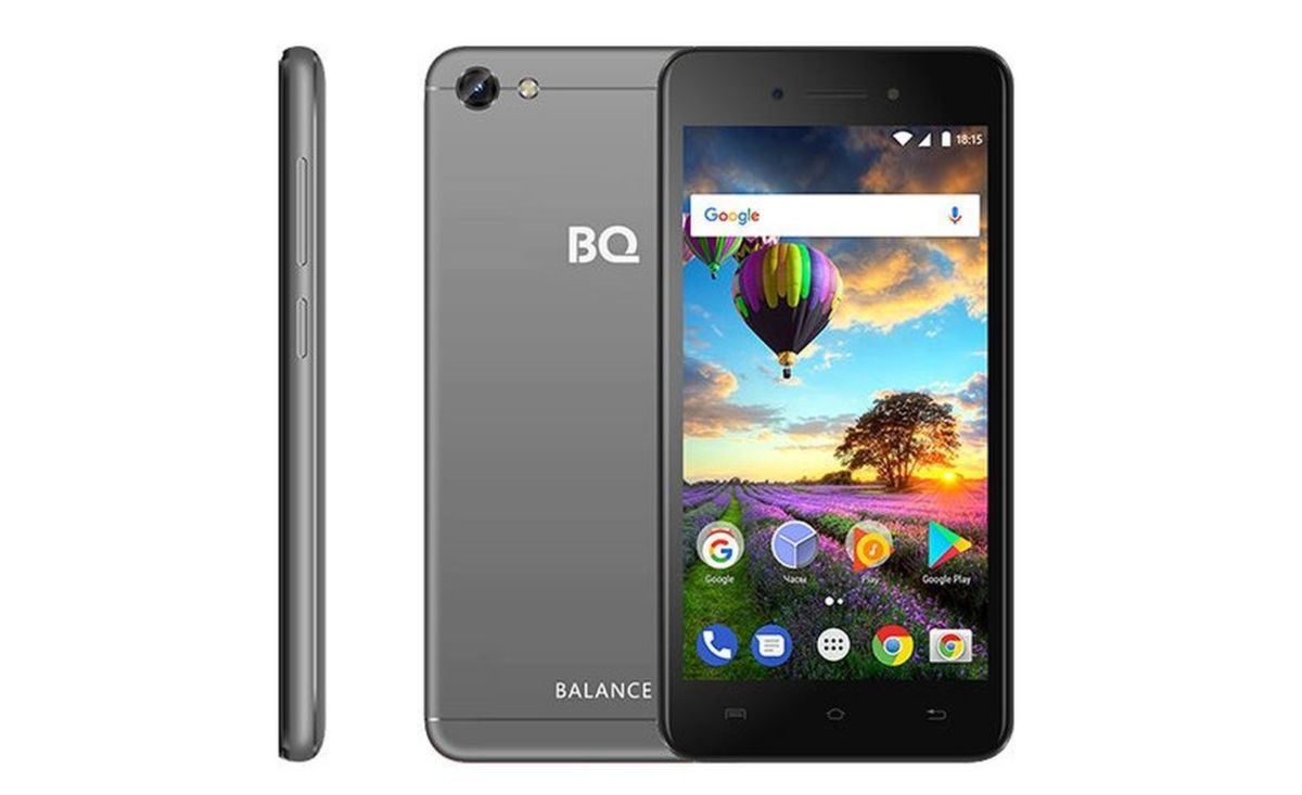 Новый смартфон BQ Balanceполучил аккумулятор большой емкости