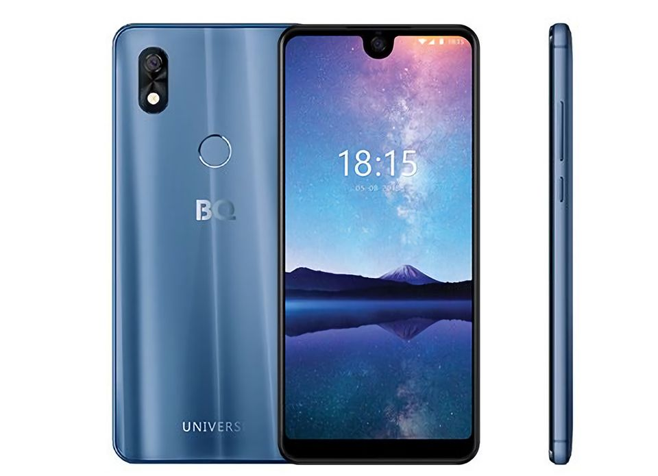 Вселенная для тебя: стартовали продажи безрамочного смартфона BQ 6015L Universe