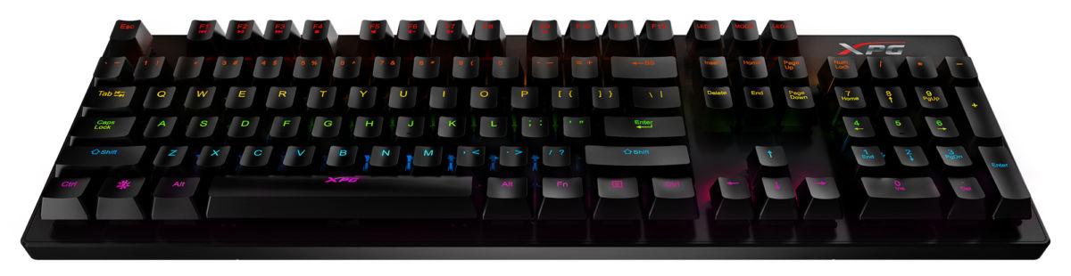 Игровая клавиатура XPG INFAREX K20 выдержит более 50 млн нажатий