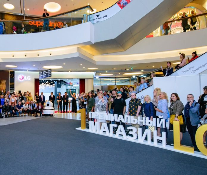 В России открылся первый премиальный магазин LG
