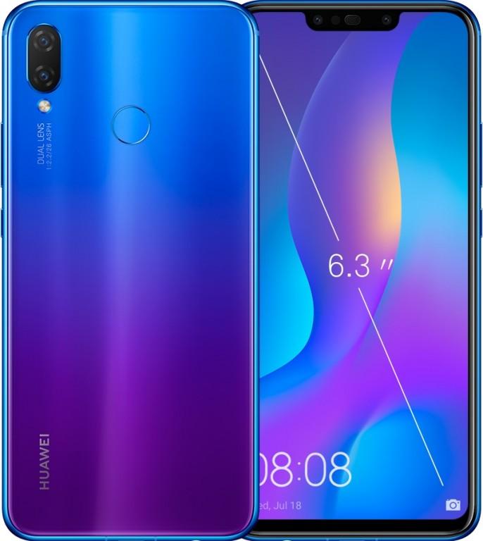 Huawei представила смартфон Huawei Nova 3i счетырьмя камерами