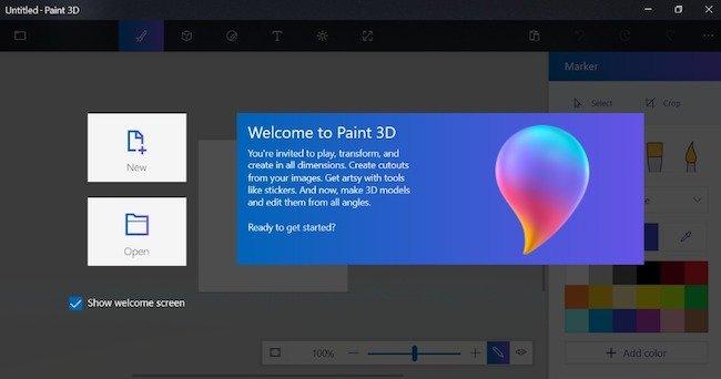 paint 3d создать изображение