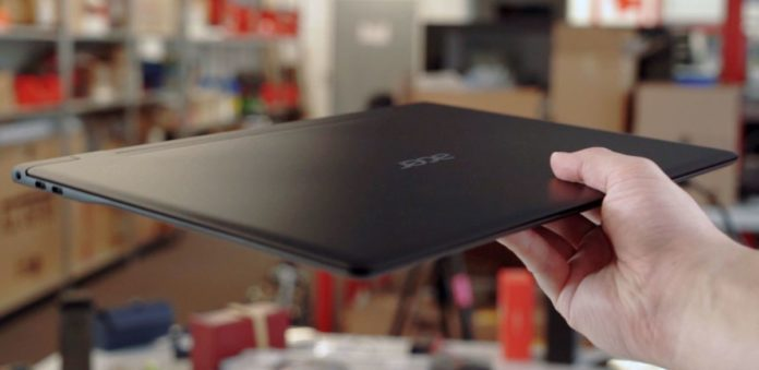 Обзор Acer Swift 7: Самый тонкий ноутбук в мире?