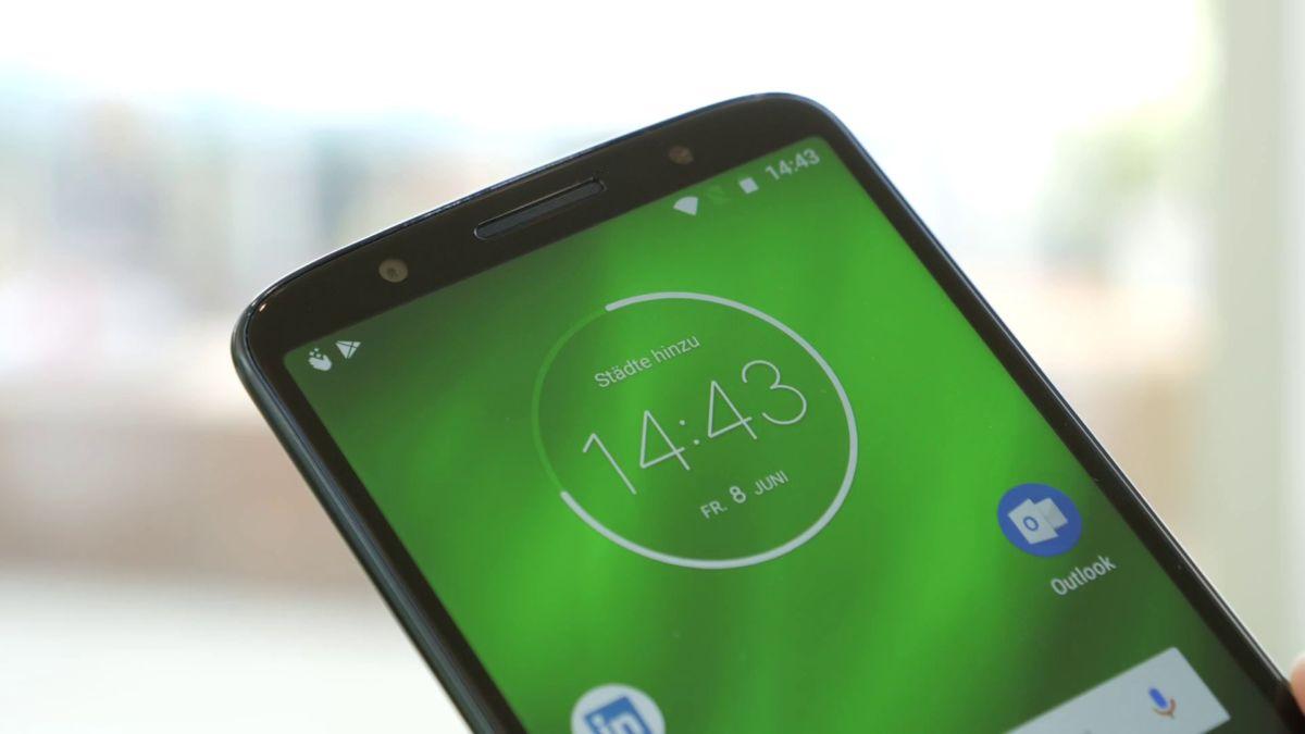 Никакой выемки на верхней стороне: 5,9-дюймовый дисплей Moto G6 Plus – классный