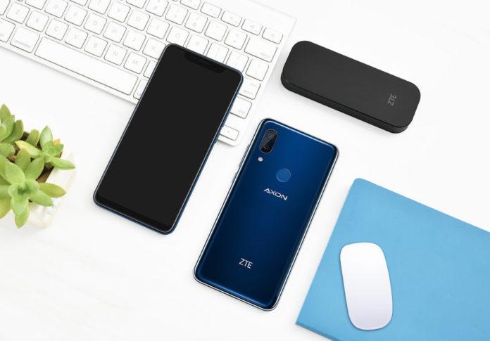 ZTE представила «антисанкционный» флагманский смартфон