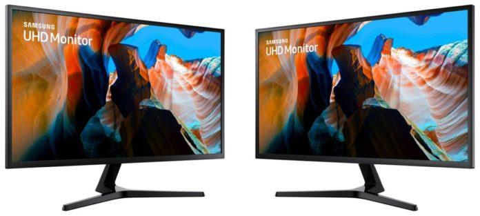 Samsung представила продвинутый 4К QLED-монитор U32J590
