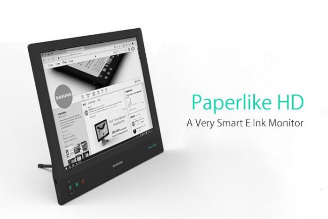 Представлен первый в мире «бумажный» монитор на основе E-Ink