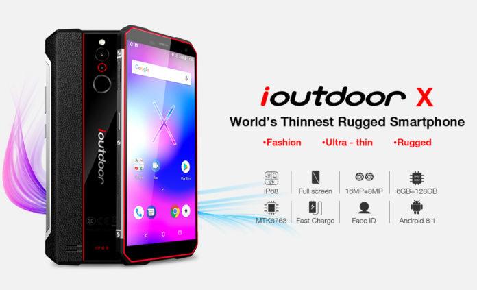 Представлен самый тонкий в мире защищенный смартфон