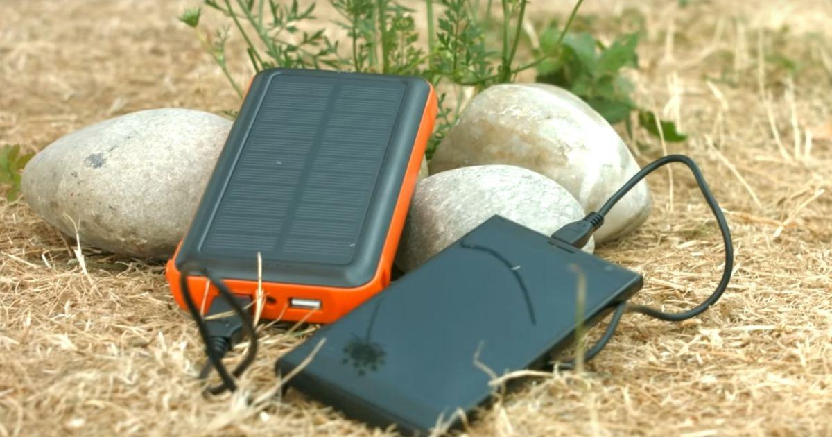 Обзор зарядных устройств и пауэрбанков на солнечных батареях