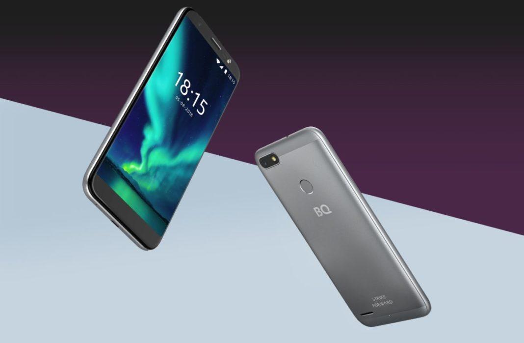 BQ представил новый смартфон BQ-5512L Strike Forward
