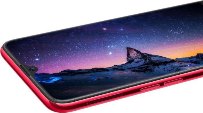 Oppo представила смартфон с безрамочным дисплеем и вырезом «капля воды»