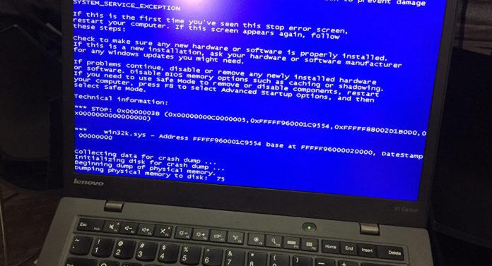 Сбой при запуске Windows — что делать?
