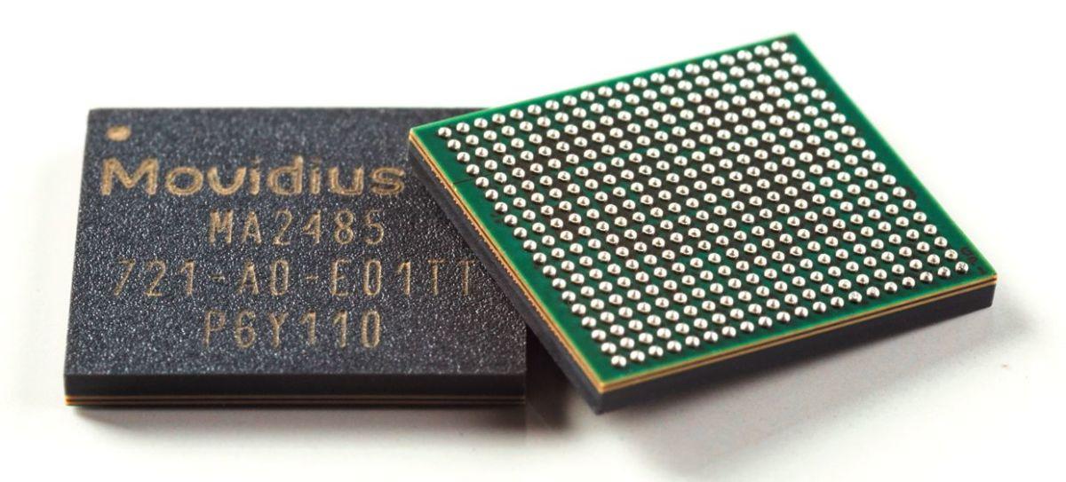 Особое ИИ-оборудование, такое как процессор Myriad X от Intel Movidius, поддерживает Windows 10 начиная с версии Redstone 4