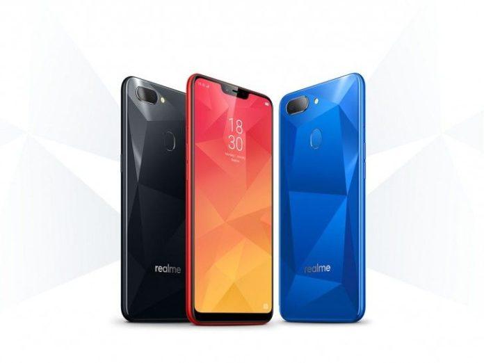 Oppo представила дешевый и долгоиграющий смартфон Realme 2