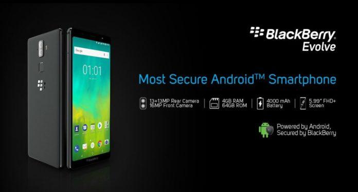 BlackBerry представила самый защищенный Android-смартфон