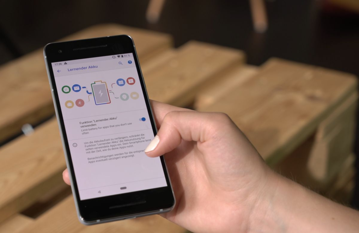 Время работы смартфона с Android Pie будет оптимизировано: система автоматически ограничивает использование батареи для редко используемых приложений