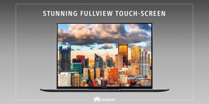 Huawei представила НЕ геймерский ноутбук MateBook X Pro