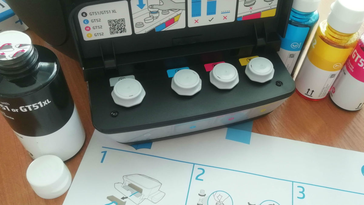 Обзор МФУ HP Ink Tank 415: печатает почти бесплатно