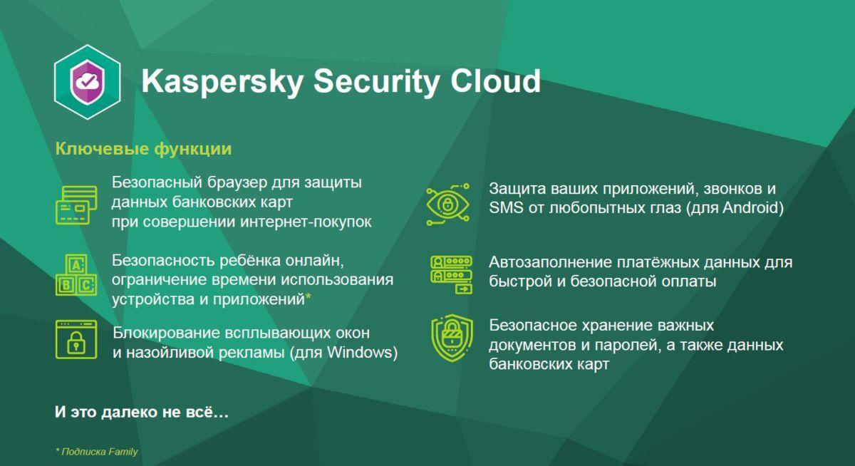 «Лаборатория Касперского» представила новое антивирусное решение Kaspersky Security Cloud