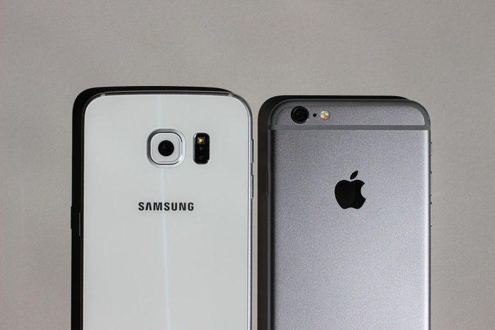 Смартфоны Samsung в среднем подешевели на 8%, а iPhone — подорожали на 20%