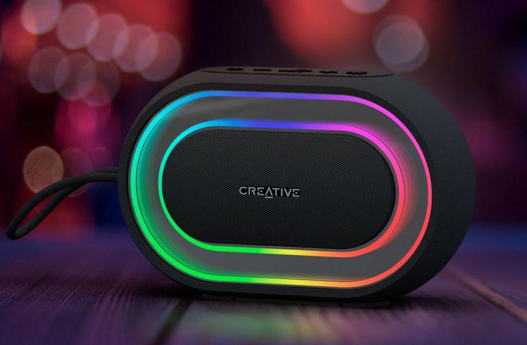 Радужная цветомузыка: обзор светящейся колонки Creative Labs Halo