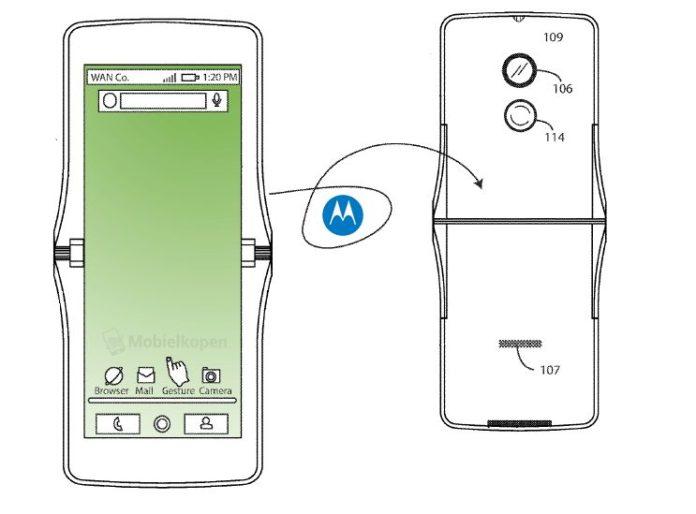 Легендарная раскладушка Motorola RAZR может возродиться в виде сгибающегося смартфона