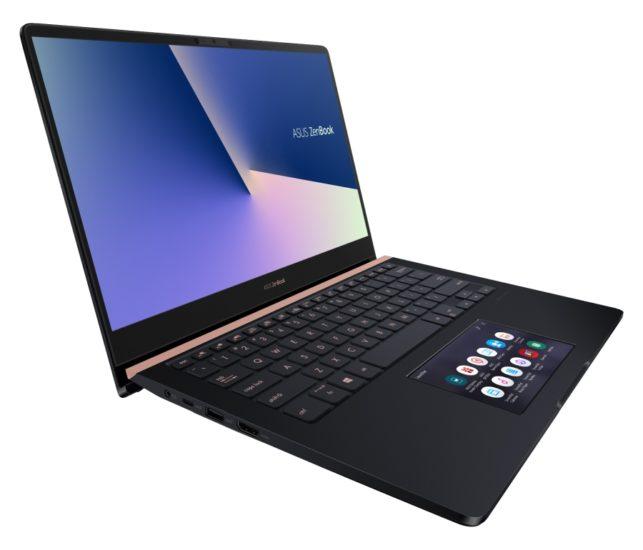 ASUS представила ноутбук сразу с двумя сенсорными экранами