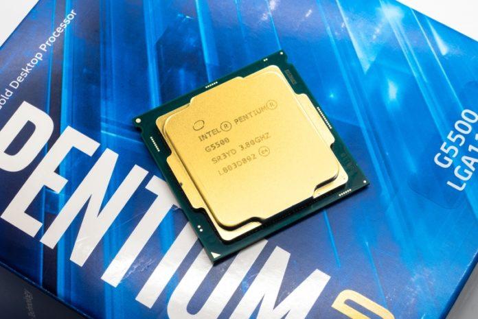 Обзор процессора Intel Pentium Gold G5500
