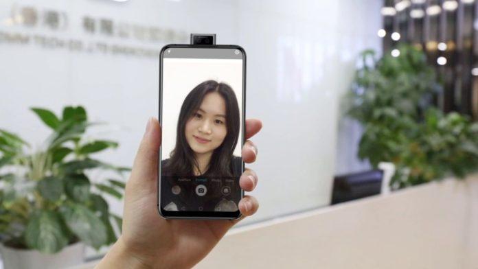 Анонсирован первый в мире безрамочный смартфон с двойной выдвижной камерой